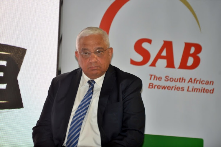 President SA Rugby Mark Alexander during the SA Rugby and ABInBev major announcement at ABInBev, Sandton on February 28, 2018 in Johannesburg.