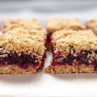 Gluten Free Cranberry Lemon Oatmeal Bars Recipe