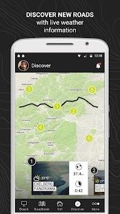 RISER - Motorcycle App - náhled