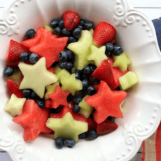 Fruit Salad with Lemon Maple Dressing.
