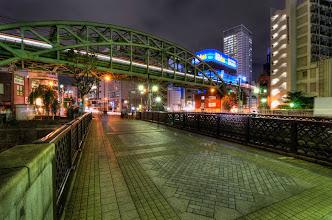 Photo: A bridge crossing the Kanda River from Ochanomizu to Akihabara in Tokyo, Japan