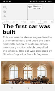 History Timeline Of Automobiles - náhled