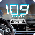 HUD Hologram Speedometer Icon