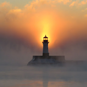 Sunrise at 18 Below by Alison Gimpel - Landscapes Weather