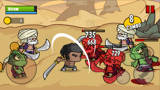 Battle Hunger: 2D Hack and Slash – Action RPG Mod Apk Download For Android and Iphone 4