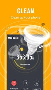 Max Boost - Phone Clean & Speed Booster Utility - náhled