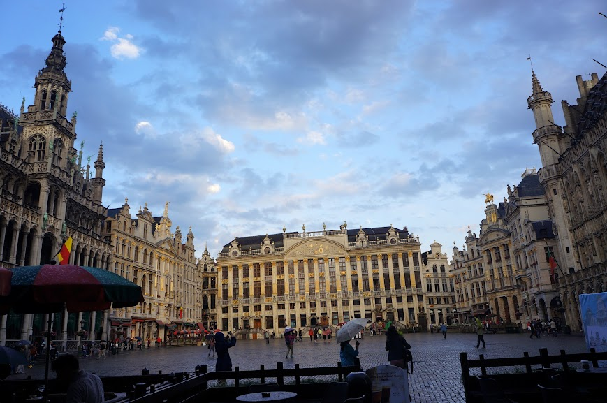 Main market square of Brussels, Belgium (2014)