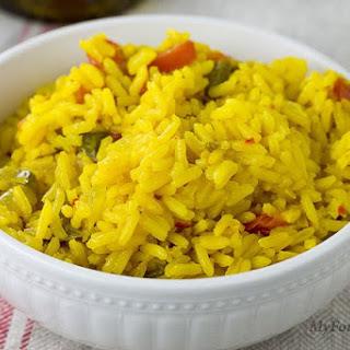 Delicious Yellow Rice.