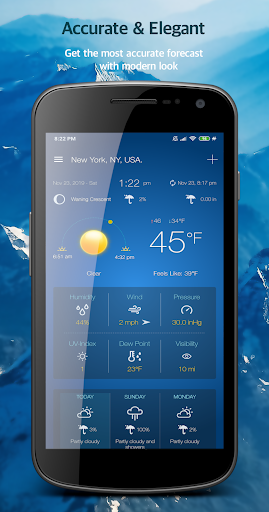 Weather Advanced for Android 1.0.4.6 Screenshots 4