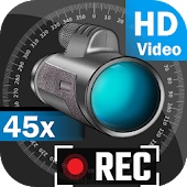 Night Mode LRS 45x Zoom Camera (Photo and Video) Icon