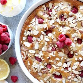 Gluten-free Raspberry Lemon Coffee Cake.