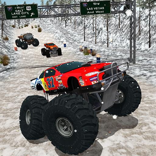 Monster Truck Snow Racing 17
