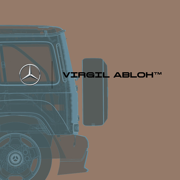 Virgil Abloh to create exclusive artwork inspired by the Mercedes-Benz G-Class.