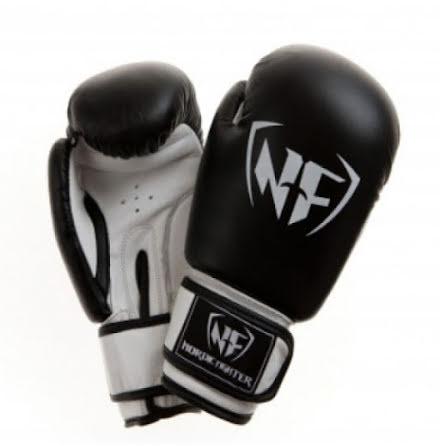 Boxhandske NF Basic Black Leather