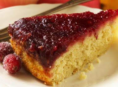 Cranberry-ginger Upside Down Cake Recipe