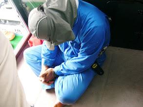 Photo: 親分・・。今日は、まったくでした。  ・・・しかしこのGW釣り三昧だった様で。