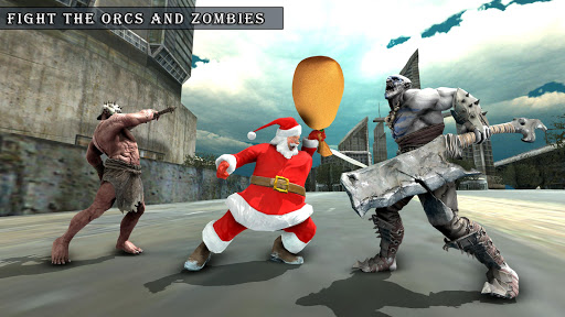 Crime City Simulator Santa Claus Rope Hero android2mod screenshots 4
