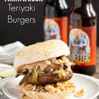 Trainwreck Teriyaki Burgers
