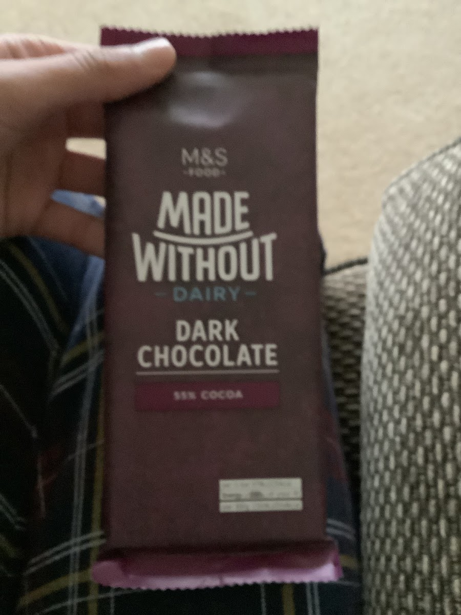 Dark Chocolate Made Without