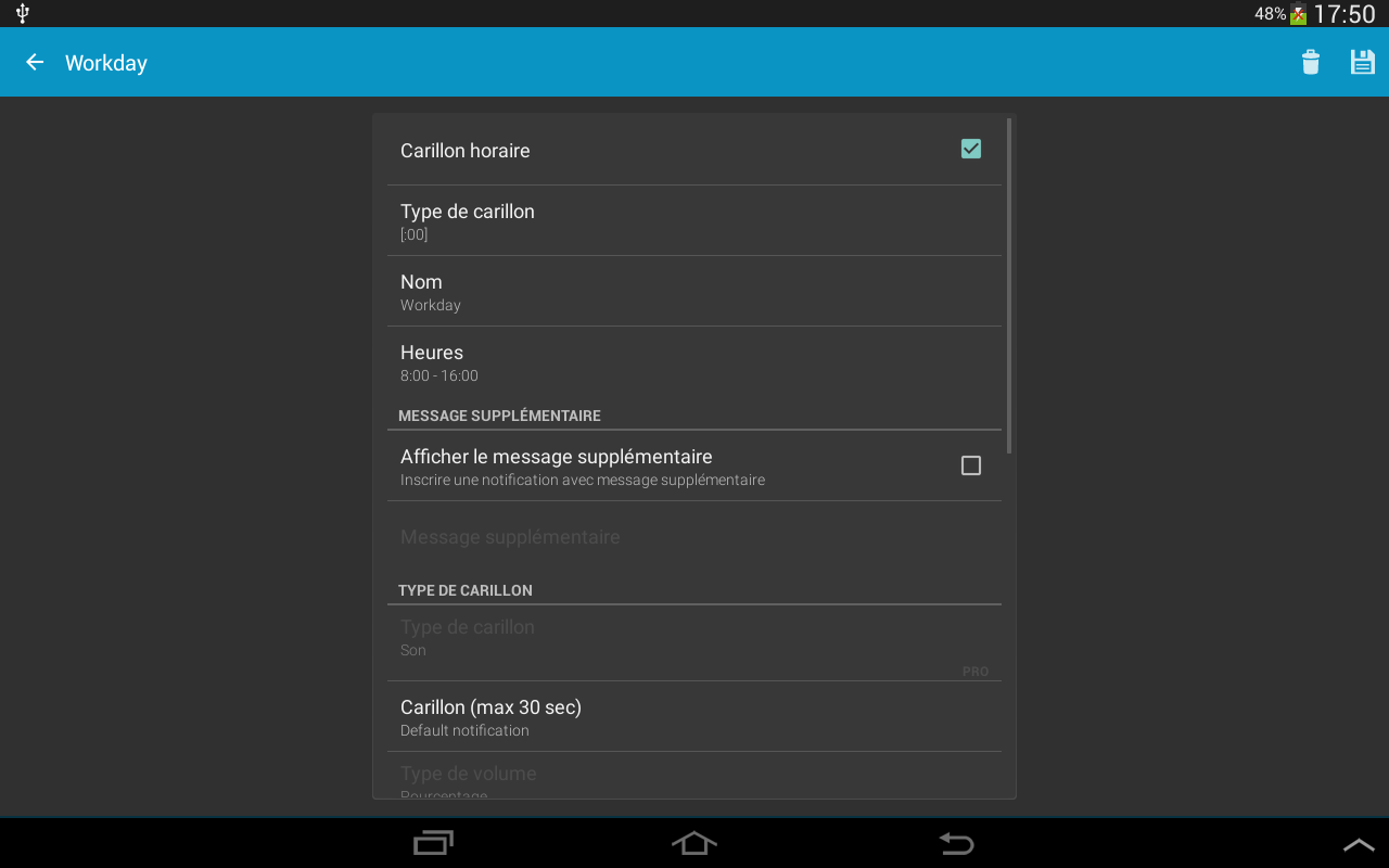 Carillon horaire – Applications Android sur Google Play