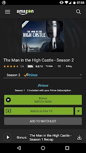 Amazon Prime Video – Vignette de la capture d'écran