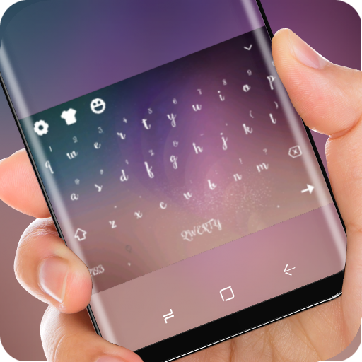 Classic Wallpaper Keyboard Theme for Samsung Note