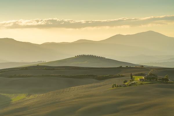 Val d'Orcia di Mauro Moroni