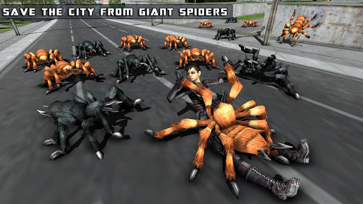 Flying Girl Rope Hero Spider Swing Game 1.3 screenshots 6