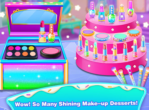 Girl Makeup Kit Comfy Cakesu2013Pretty Box Bakery Game 1.1 screenshots 4