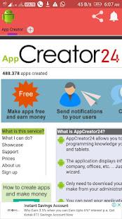 app Creator 24 on Windows PC Download Free - 9 1