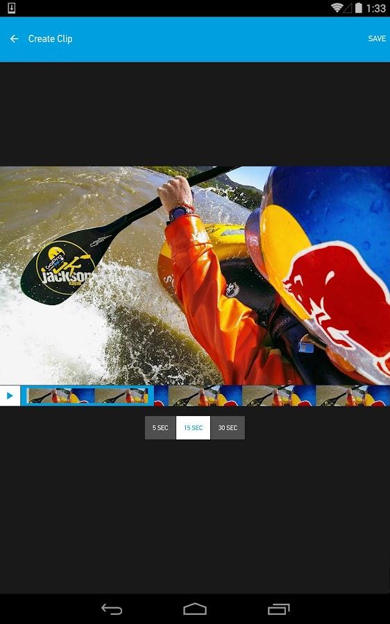 GoPro App- screenshot