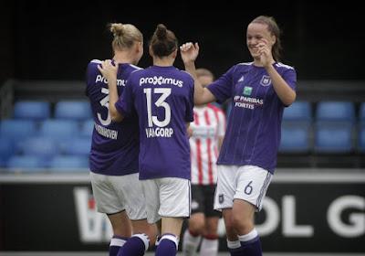 KAA Gent Ladies geven zowaar nog 3-0 voorsprong uit handen tegen Anderlecht, dat titel al kan ruiken