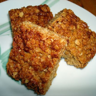 Flapjacks (with Walnuts & Chocolate)