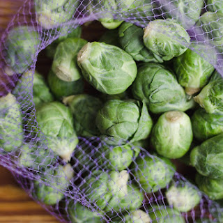 Crispy Brussels Sprouts with Shallot + Sage Toasted Breadcrumbs {print me!}