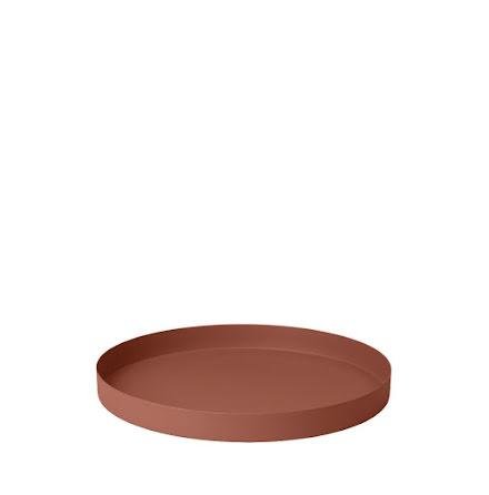 REO Bricka, Ø 30,5 cm, Medium, Rustic Brown
