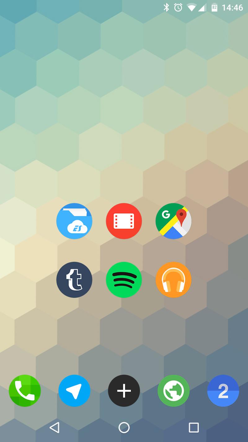 FlatDroid - Icon Pack Screenshot 6