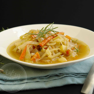 Country Braised Cabbage Soup (vegan Option, Gluten-free, Paleo)
