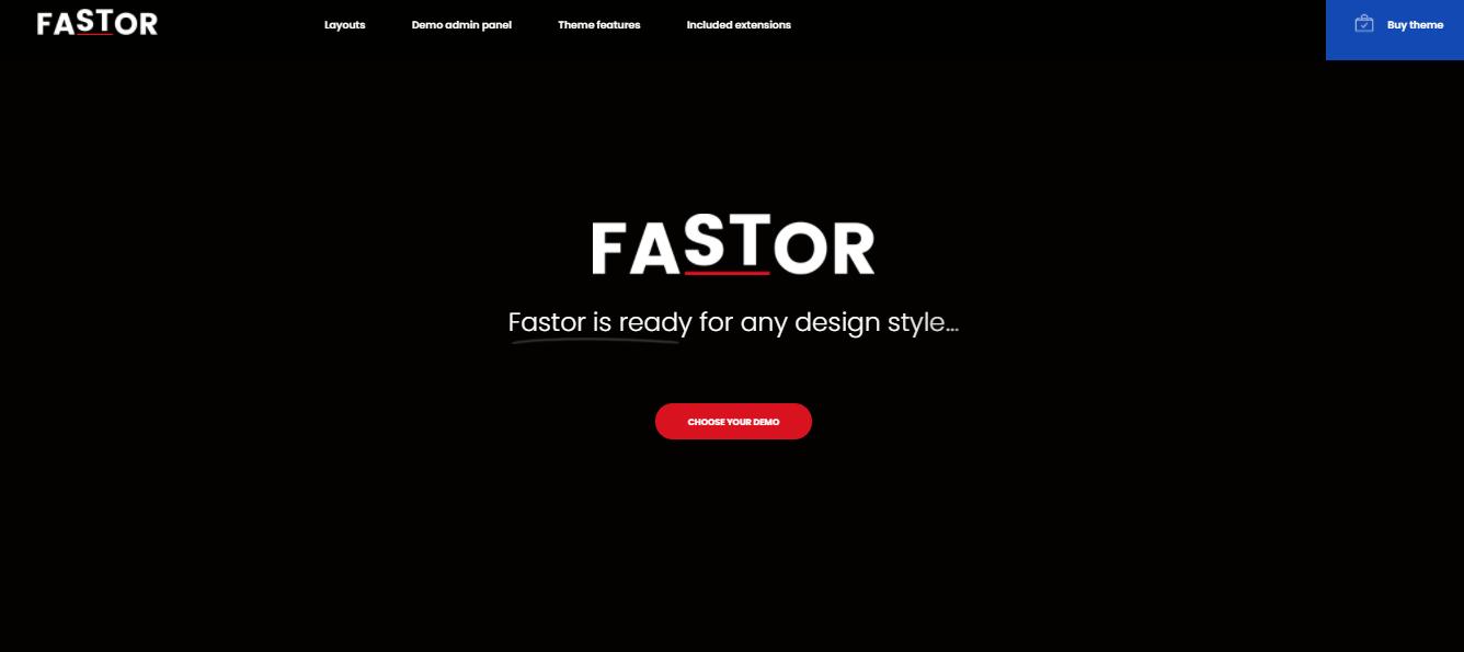 Fastor - Opencart theme