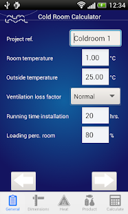 Cold Room Calculator- screenshot thumbnail