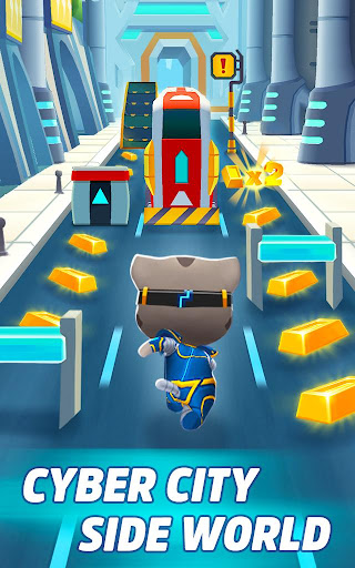 Talking Tom Gold Run 3D Game screenshot 15