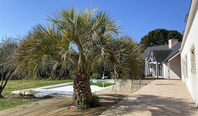 Villa en bord de mer avec jardin Ploemeur