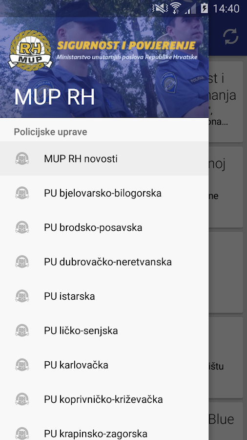 MUP RH- screenshot