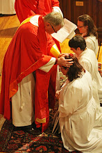 Photo: Therefore, Father, through Jesus Christ your Son, give your Holy Spirit to Rhetta; fill her with grace and power, and make her a deacon in your Church.