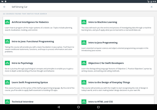 Udacity - Lifelong Learning 3.9.1 screenshots 12