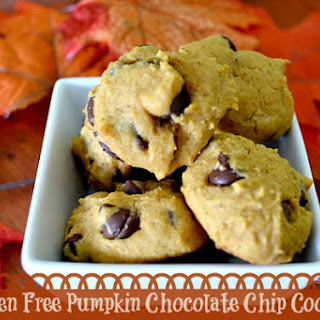 Gluten Free Pumpkin Chocolate Chip Cookies