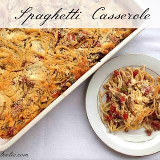 National Spaghetti Day | Spaghetti Casserole
