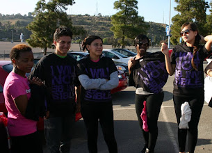 Photo: Racing 4 HOPE is engaging teens to work together in modeling healthy relationships and behaviors while helping raise awareness of relationship violence.