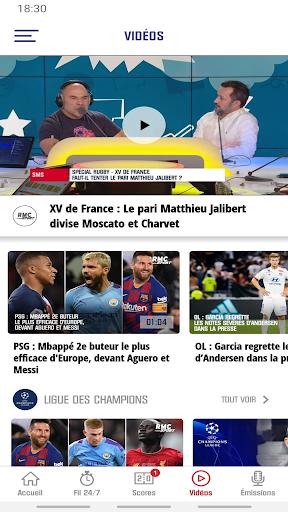 RMC Sport News screenshot 2