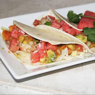 Watermelon Lobster Tacos.