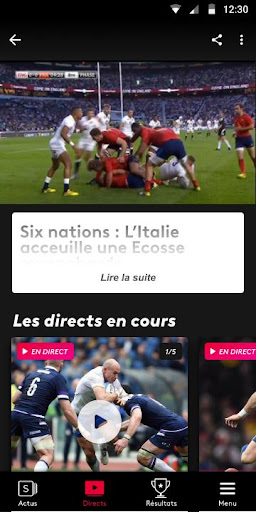 France tv sport screenshot 7